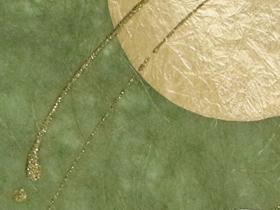 金箔・樹脂