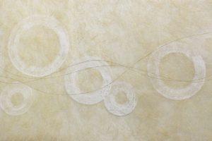 金箔・樹脂の創作加飾デザイン和紙(G-715)