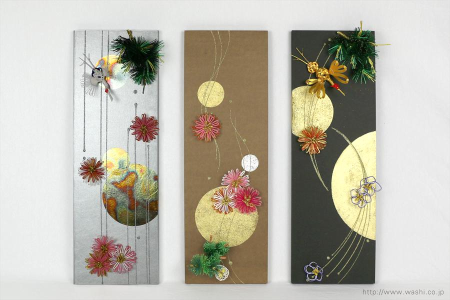 結納水引飾りリメイクパネル(石川県T様)1