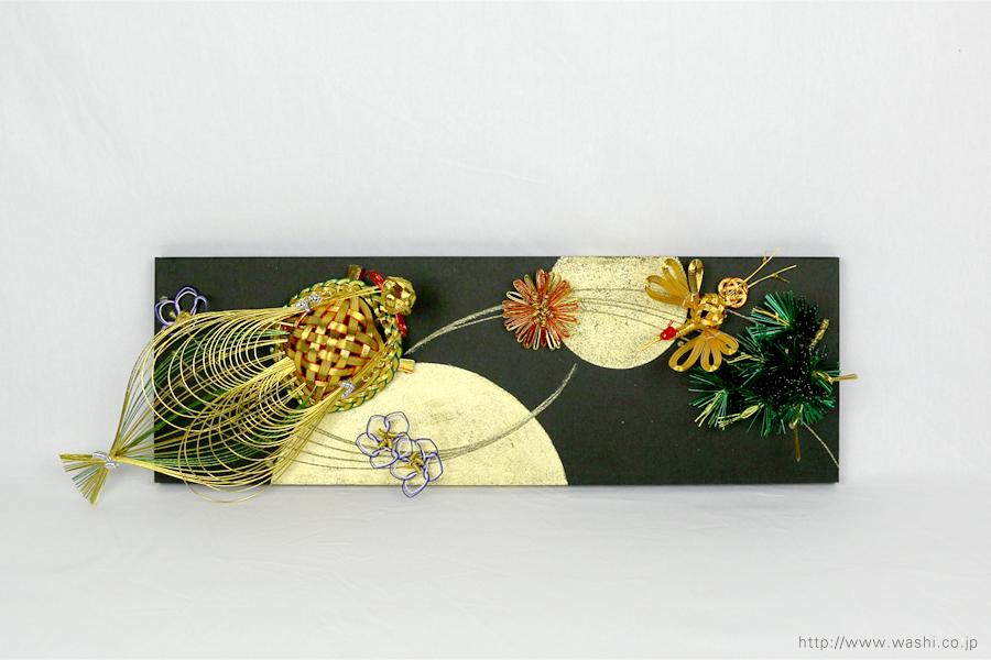 結納水引飾りリメイクパネル(石川県T様)3