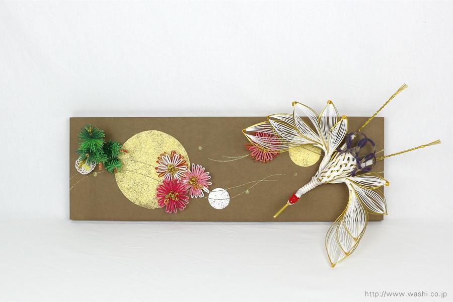 結納水引飾りリメイクパネル(石川県T様)5