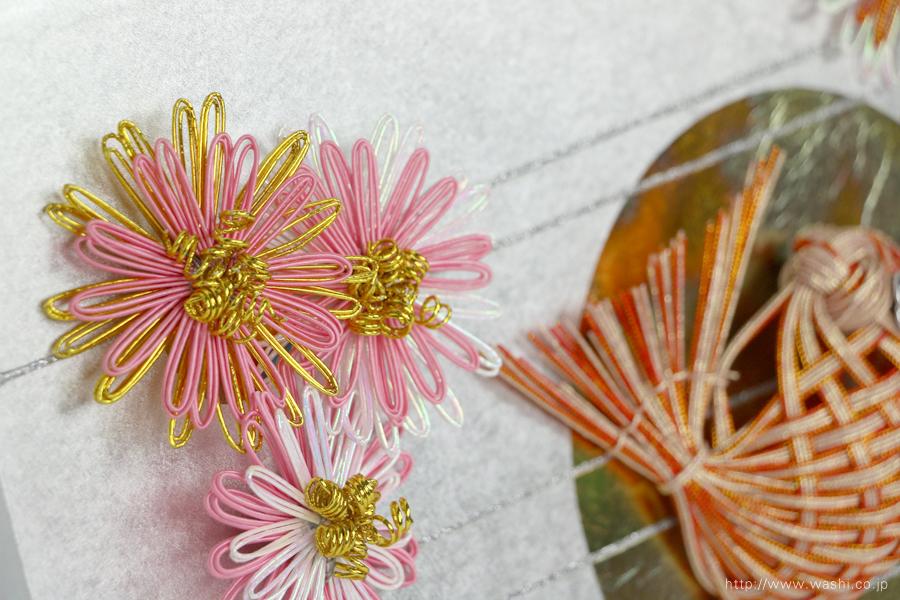 結納水引飾りリメイクパネル(石川県T様)8