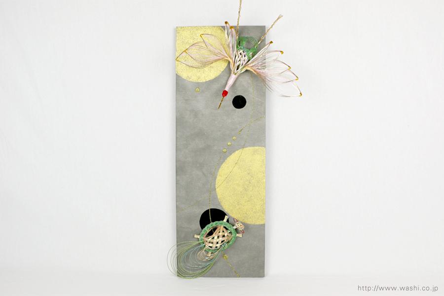 結納水引飾りリメイクパネル(兵庫県E様)1