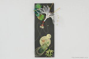石川県S様の結納水引飾りリメイクパネル(1)