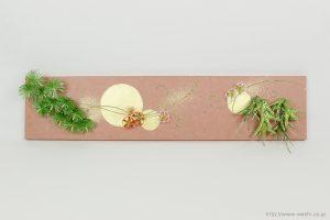 結納水引飾りリメイクパネル(兵庫県I様)1