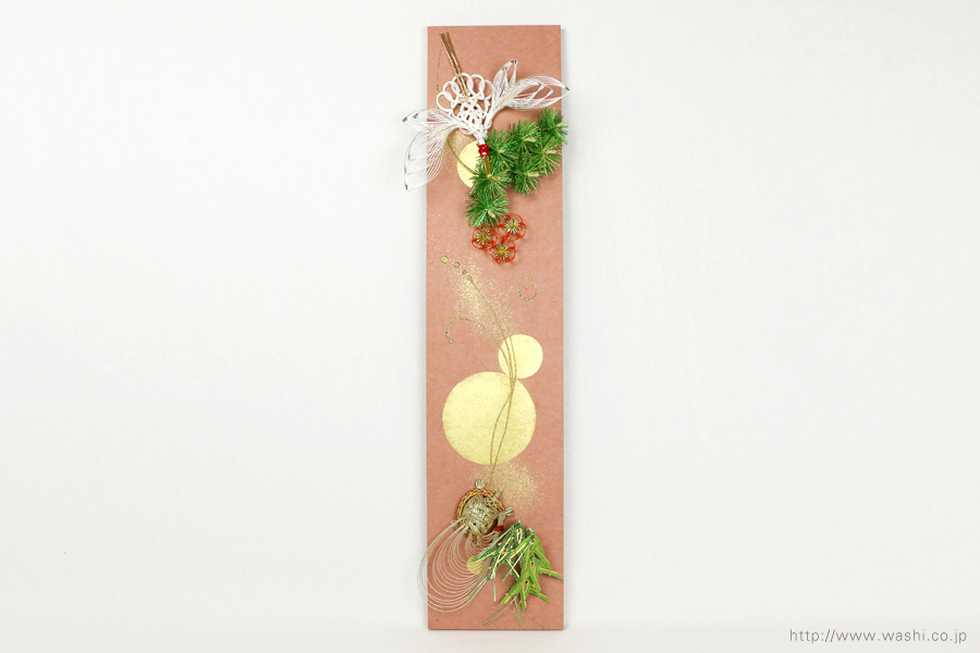 結納水引飾りリメイクパネル(兵庫県I様)5