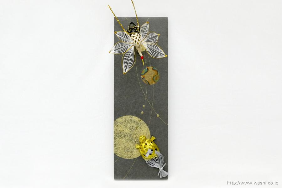 結納水引飾りリメイクパネル(石川県H様)5