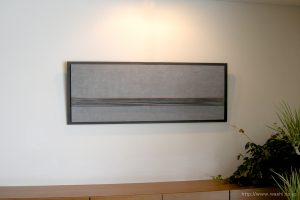 オブジェ和紙インテリアアートパネル2段(近づいて撮影)