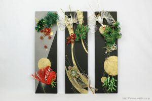 結納水引飾りリメイクパネル(東京都W様)1