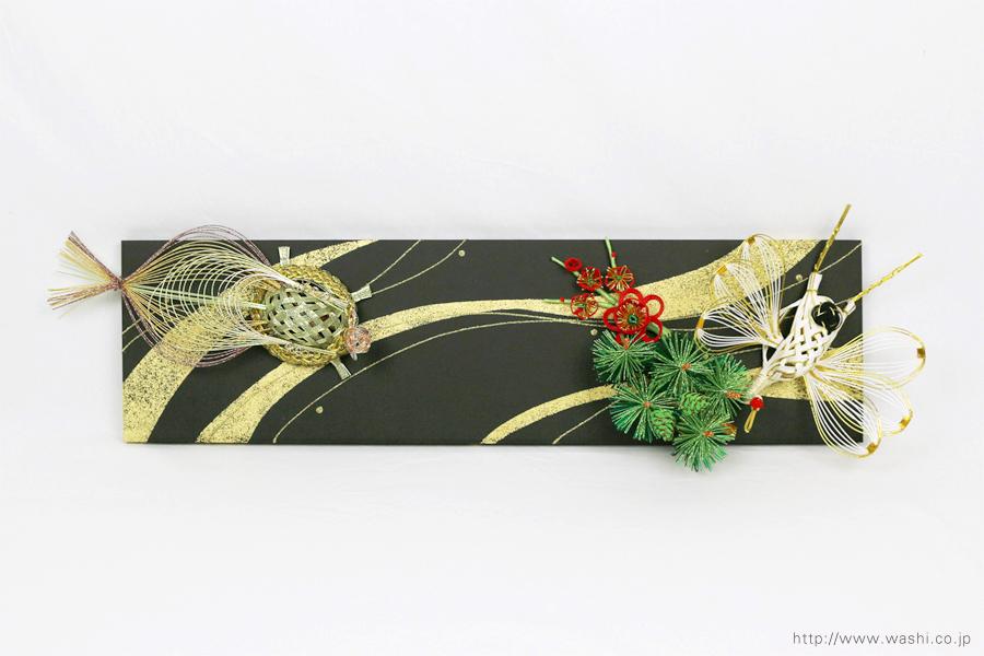 結納水引飾りリメイクパネル(東京都W様)4