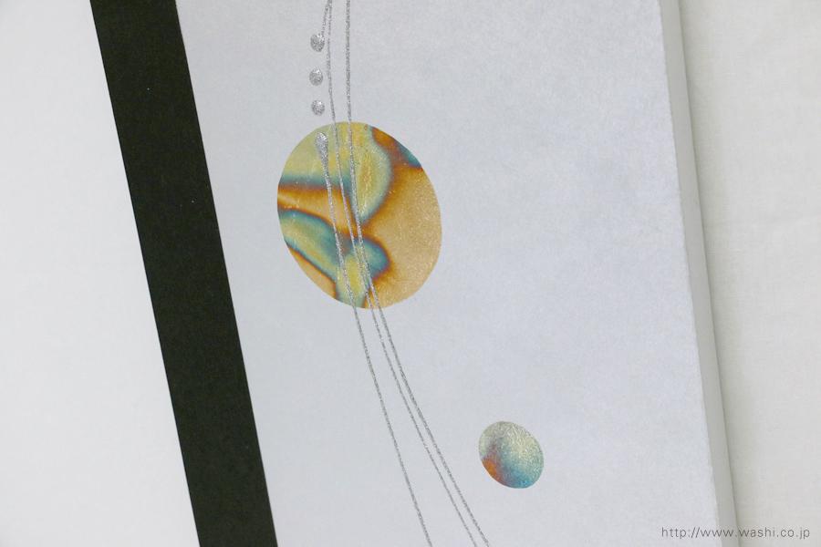 結納水引飾りリメイクパネル(千葉県K様)4