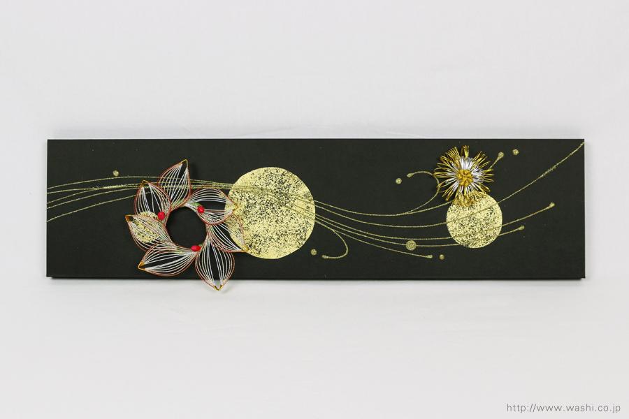 結納水引飾りリメイクパネル(岐阜県K様)6