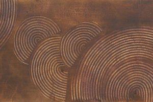 漆の創作加飾デザイン和紙(U-703)