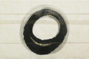 墨金彩の創作加飾デザイン和紙(S-702)