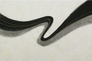 墨金彩の創作加飾デザイン和紙(S-703)