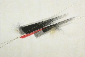 墨金彩の創作加飾デザイン和紙(S-715)