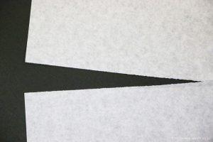 和紙と洋紙の違い(洋紙の繊維)