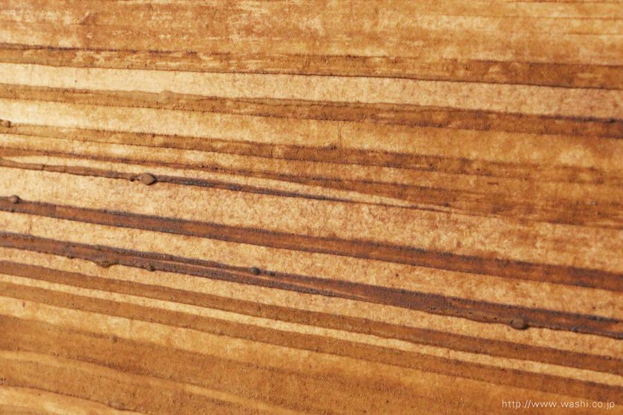 オフィスインテリアの和紙アートパネル 室内装飾- Wabi-Sabi Washi Art Panel(デザイン部分アップ)