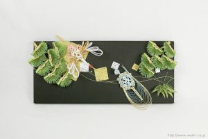 結納水引飾りリメイクパネル(熊本県S様)1