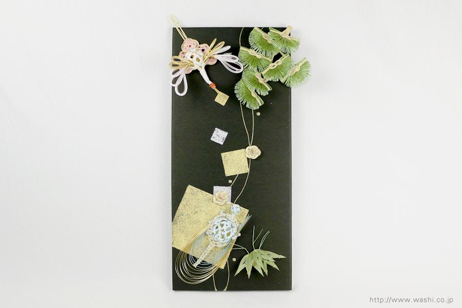 結納水引飾りリメイクパネル(熊本県S様)4