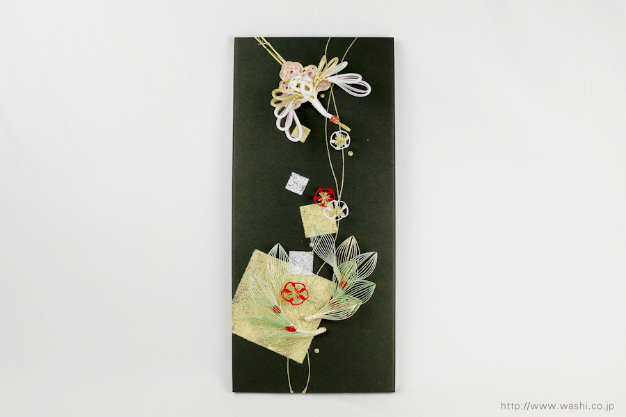 結納水引飾りリメイクパネル(熊本県S様)5