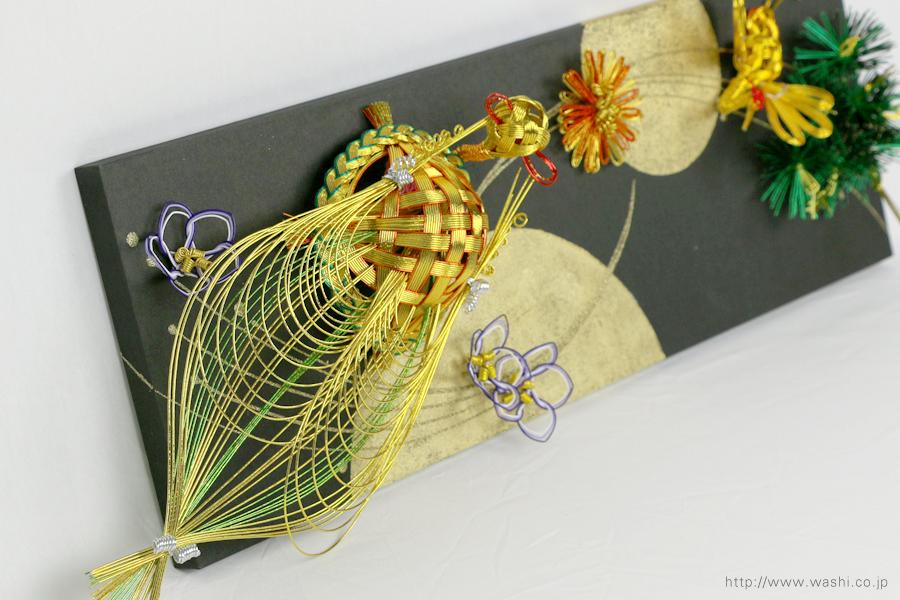 結納水引飾りリメイクパネル(石川県T様)4