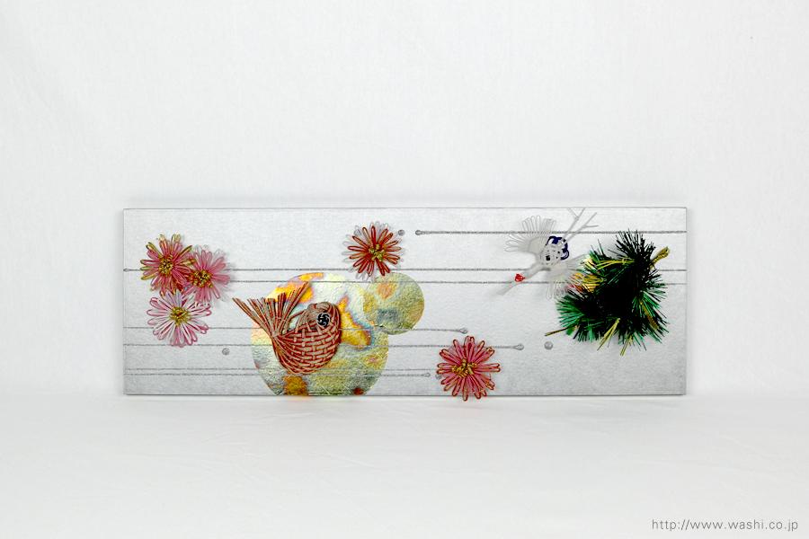 結納水引飾りリメイクパネル(石川県T様)7