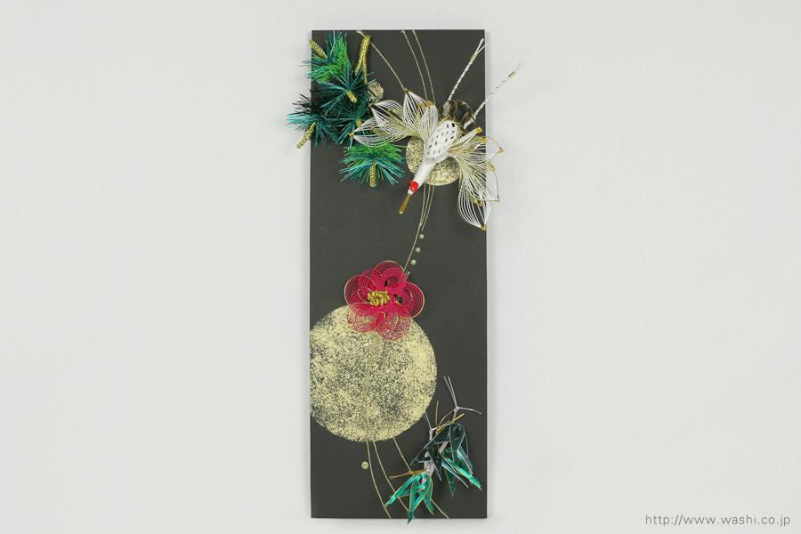 石川県S様の結納水引飾りリメイクパネル(6)