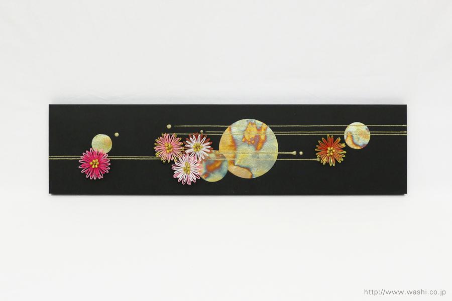 結納水引飾りリメイクパネル(和歌山県H様)7