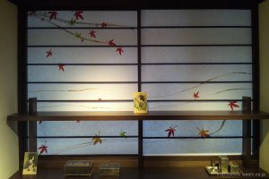 空間装飾/創作和紙障子紙(紅葉)1