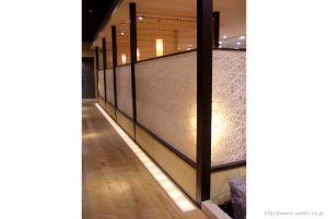 空間装飾/和紙パーティション(紙糸入)1