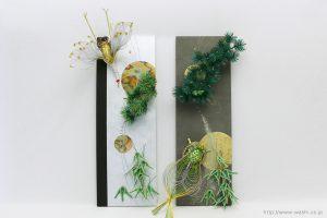 結納水引飾りリメイクパネル(千葉県K様)1