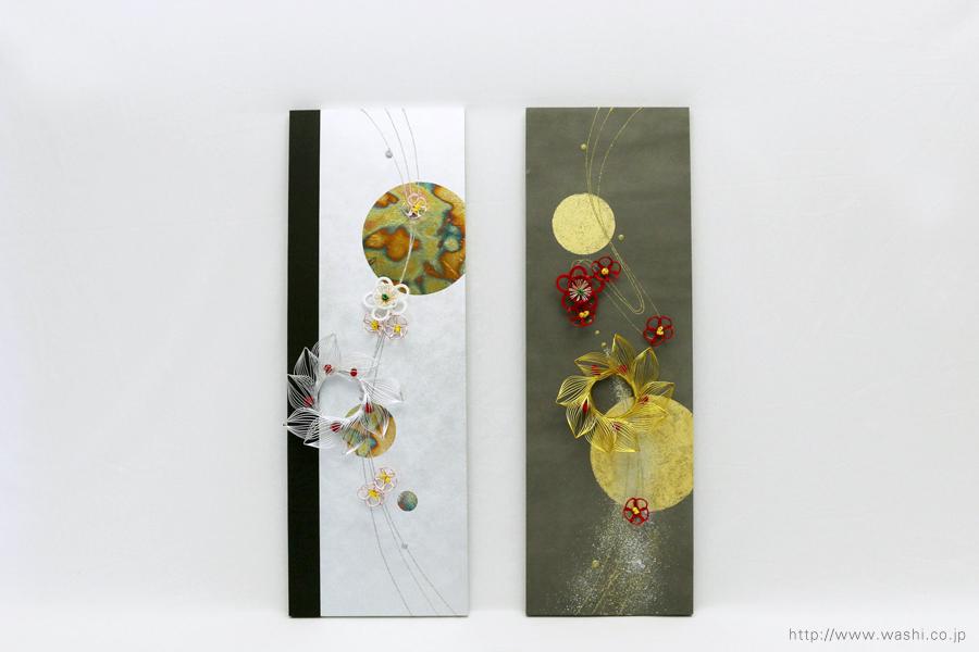 結納水引飾りリメイクパネル(千葉県K様)3