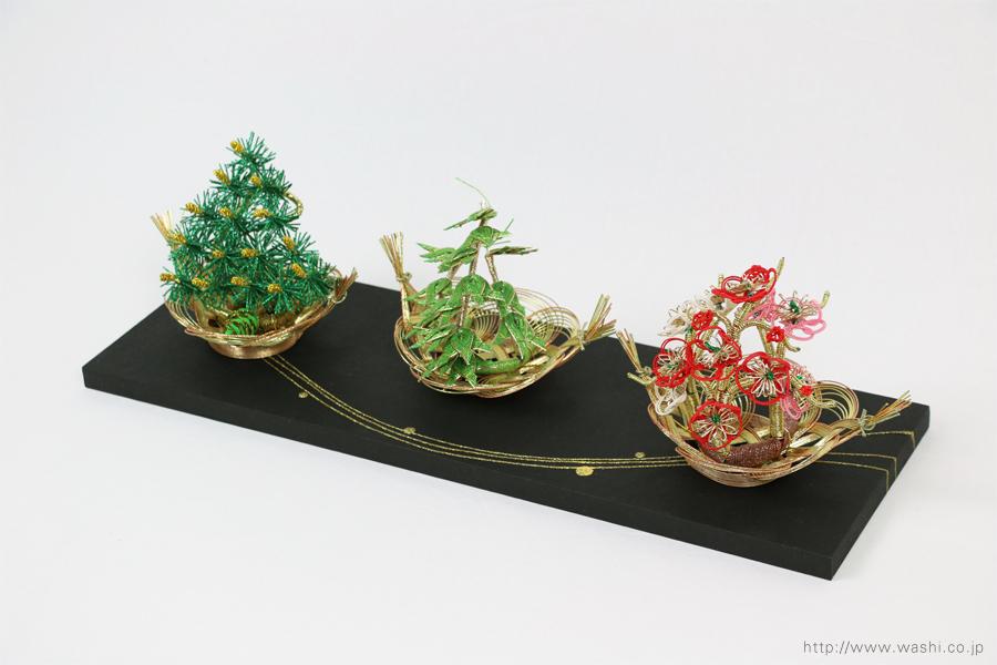 結納水引飾りリメイクパネル(岐阜県K様)1