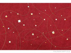 インテリア和紙(金箔・樹脂)G-719