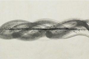 墨金彩の創作加飾デザイン和紙(S-704)