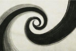 墨金彩の創作加飾デザイン和紙(S-706)