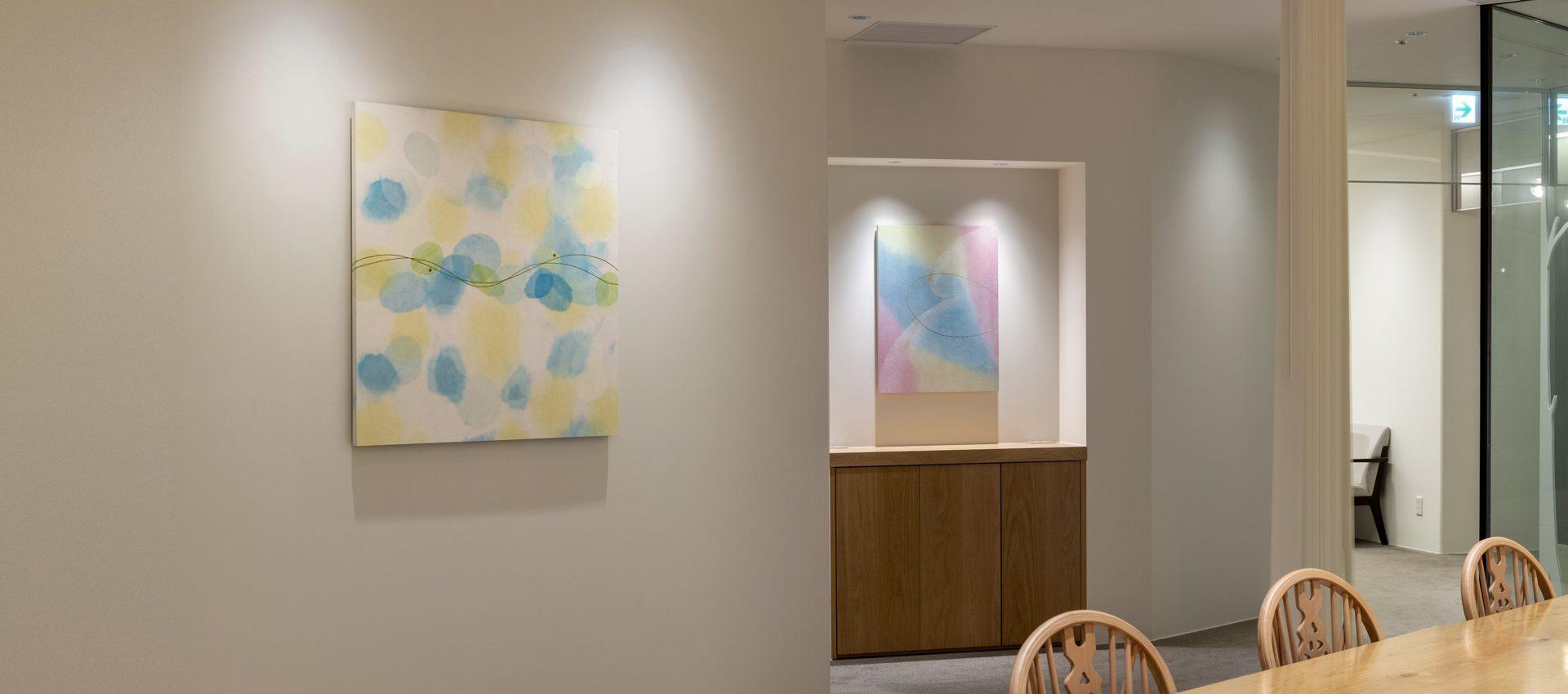 「癒し」和紙ホスピタルアートパネル(大サイズ画像)病院