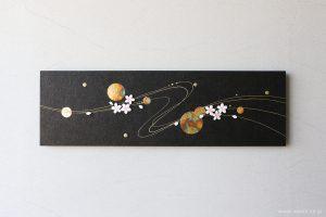 季節にあわせてモチーフを付け替えることが出来る和紙アートパネル