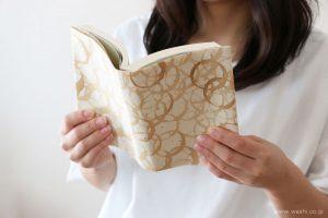 破れにくい和紙のブックカバー