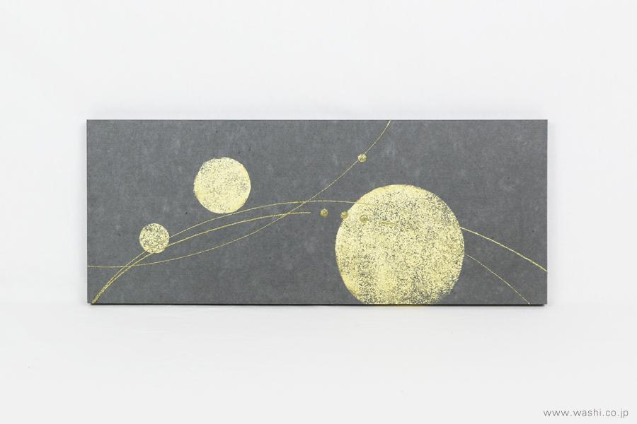 ちりめん玉飾りと鶴亀の結納品リメイクアートパネル(飾り無し)