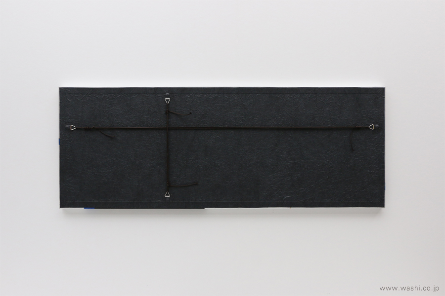 現代の生活空間にも合わせやすい結納品リメイクパネル 3種(銀タイプ 裏面)