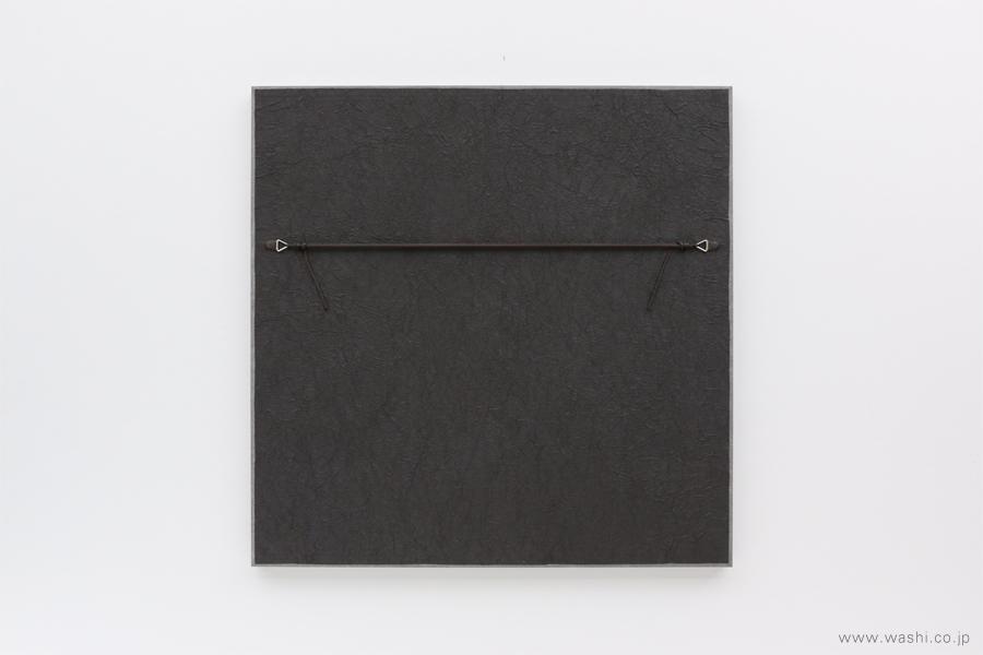 存在感のある結納飾りをリメイクして3種類の角型アートパネルに(裏面)